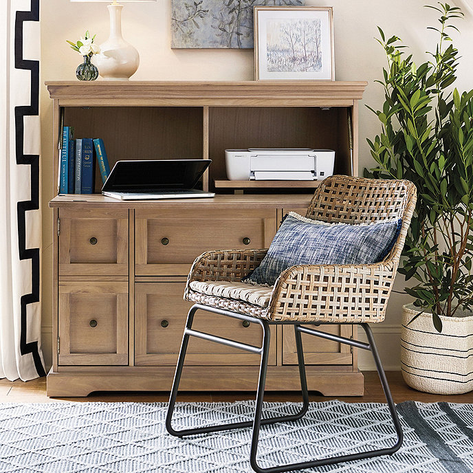 large eastman secretary ballard designs rh ballarddesigns com ballard design desk chair ballard design desk chair