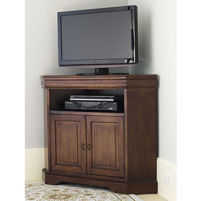 Angullo Corner Media Cabinet & Angullo Corner Media Cabinet | Ballard Designs