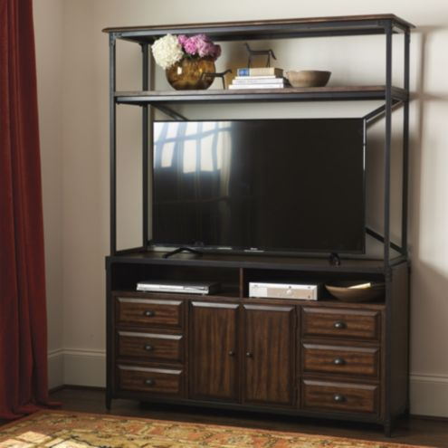 Matteo Media Console with Hutch