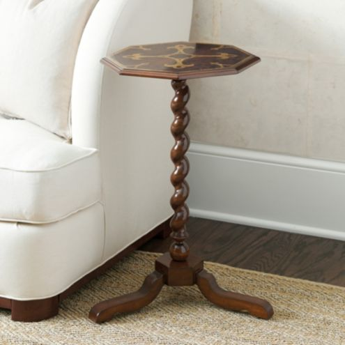 Miles Redd Marquetry Accent Table