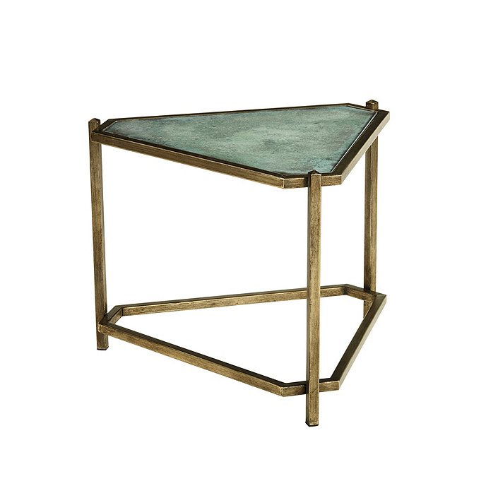 Kendall Triangle Side Table - Kendall coffee table