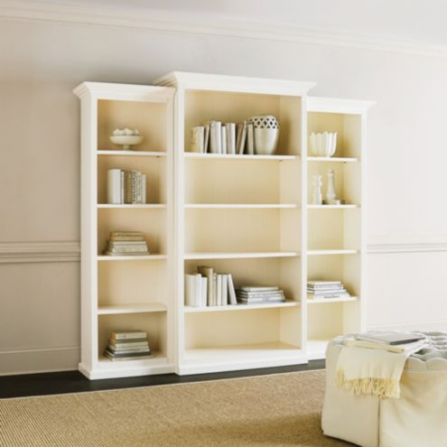 Tuscan Bookcase Set - 3 Piece