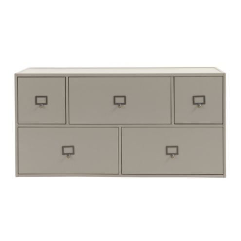 Abbeville Large 5-Drawer Stacking Cabinet