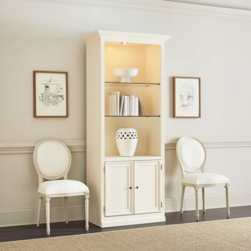 Tuscan Bookcase with Cabinet