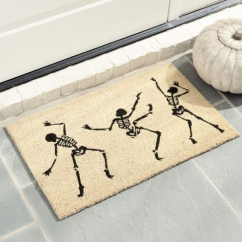 Dancing Skeletons Coir Mat