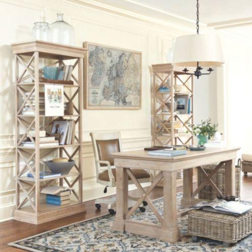 remington home office furniture ballard designs. Black Bedroom Furniture Sets. Home Design Ideas