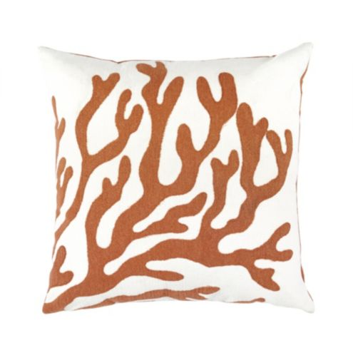 Coral Branch Indoor/Outdoor Pillow