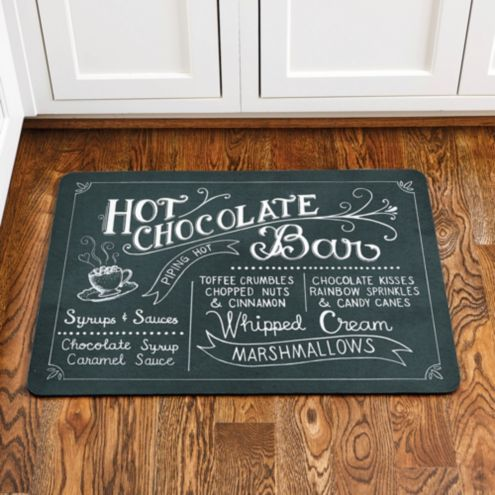 Hot Chocolate Comfort Mat