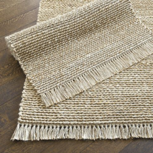 Twisted rope jute rug ballard designs for Ballard designs bathroom rugs
