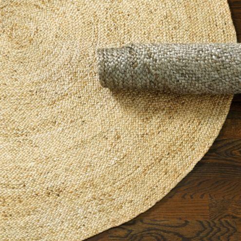 Round braided jute rug ballard designs for Ballard designs bathroom rugs