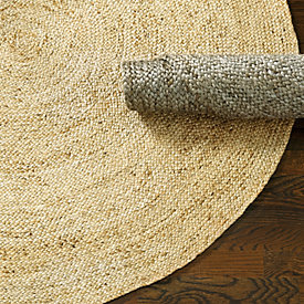 round braided jute rug