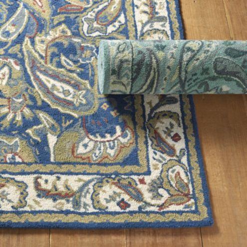 Abby hand hooked rug ballard designs for Ballard designs bathroom rugs