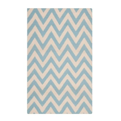 Chevron stripe dhurrie rug ballard designs for Ballard designs bathroom rugs