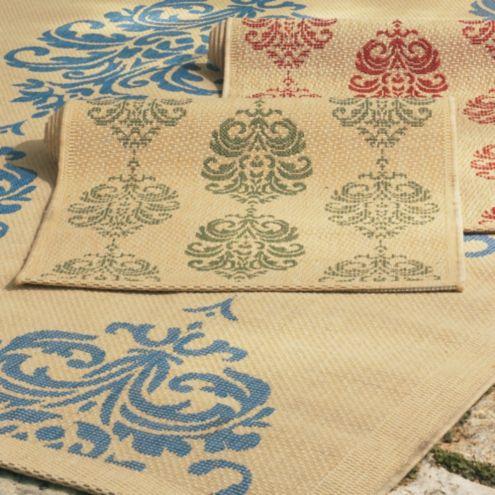 Marrakesh indoor outdoor rug ballard designs for Ballard designs bathroom rugs
