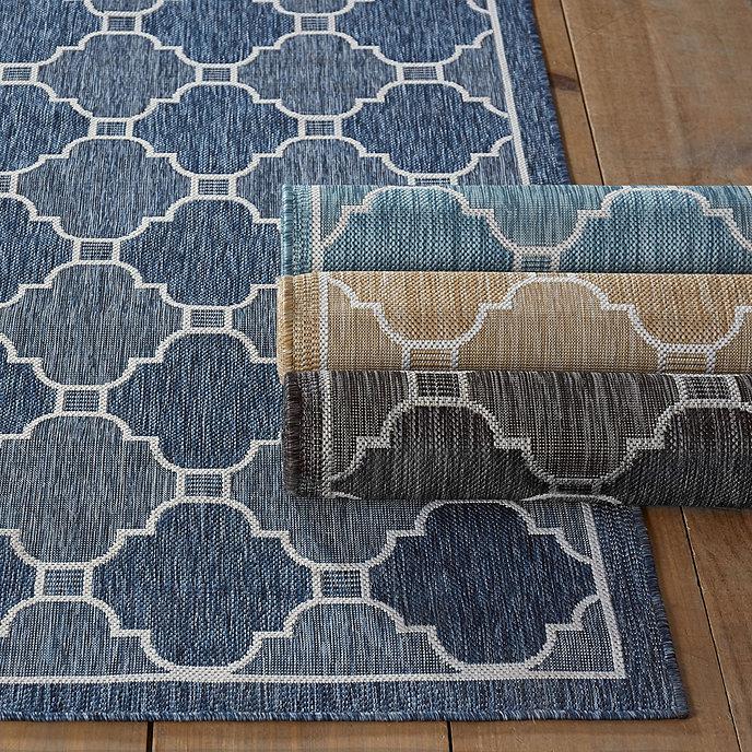 Geneve Indoor/Outdoor Rug | Ballard Designs