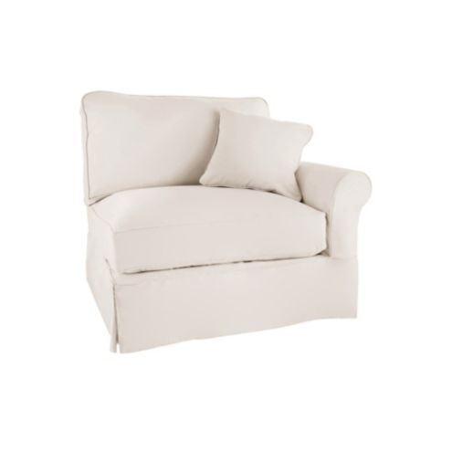 Baldwin Right Armchair Slipcover - Special Order Fabrics