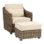 Capri Chair U0026 Ottoman