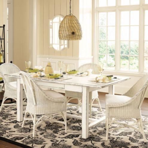 Key West Wicker Chairs Set Of 2 Ballard Designs