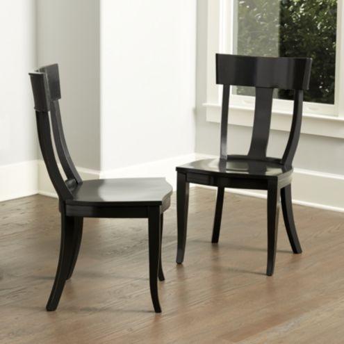 Arletta Klismos Dining Chairs - Set of 2 | Ballard Designs