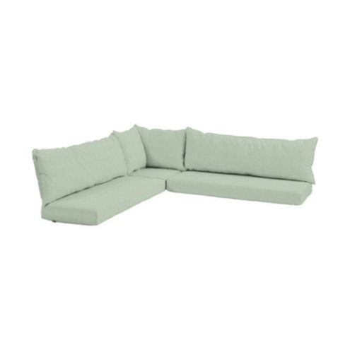 Banquette 3 Piece Cushion Seat/Back Set