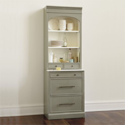 Paulette Server with 2 Drawers