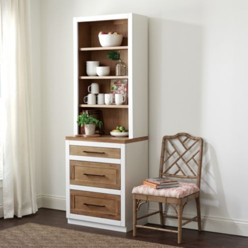 Ashton Server with 3 Drawer Console