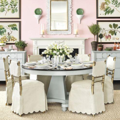 Bunny Williams Manor House Dining Table Ballard Designs