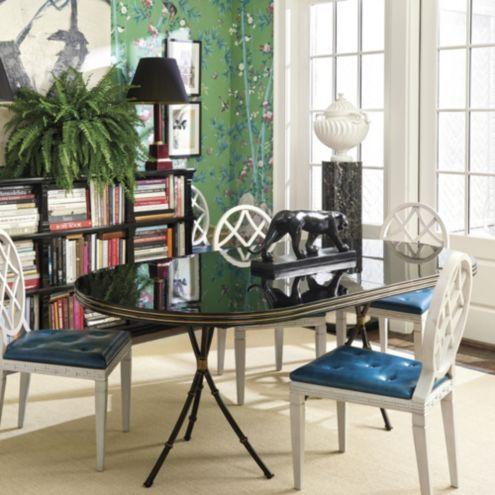 Miles Redd Extension Dining Table Ballard Designs