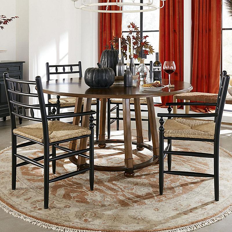 Ballard Designsportofino Round Dining Table Designs Dailymail