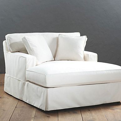 Ballard designs sofa slipcovers for Ballard designs chaise