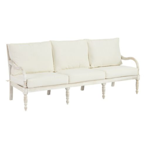 Ceylon sofa with cushion ballard designs for Ballard designs chaise lounge