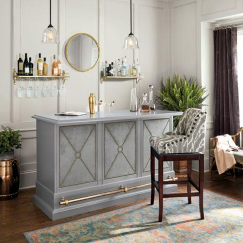 jill bar cart european inspired home furnishings ballard designs. Black Bedroom Furniture Sets. Home Design Ideas