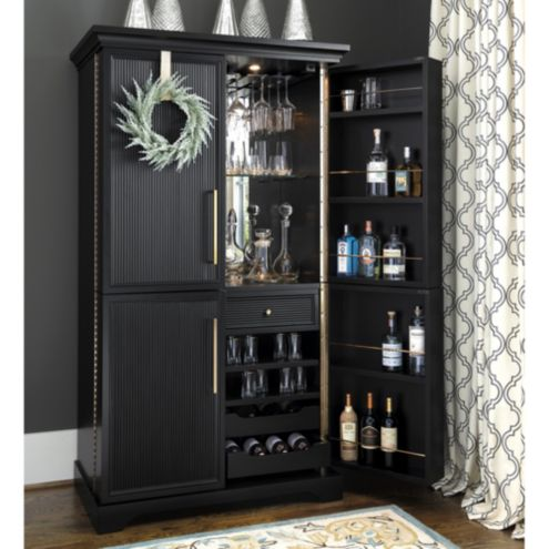 Picard Bar Cabinet Ballard Designs