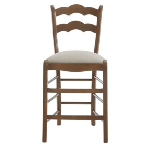 Casa Florentina Genoa Counter Stool with Linen Seat