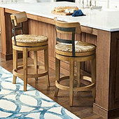 Marguerite Stools & French Country Rush Seat Bar Stool | Ballard Designs islam-shia.org