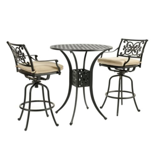 Amalfi 3-Piece Bar Set