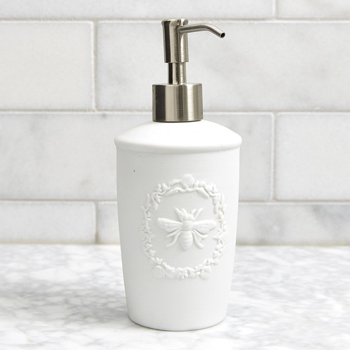bee porcelain soap dispenser - Bathroom Accessories Design
