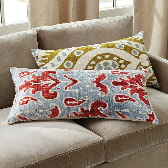Vivienne Velvet Linen Pillow Cover