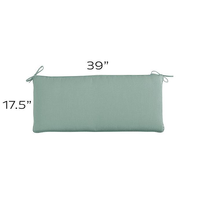 Outdoor Bench Cushion U 39 X 17 5 Ballard Designs