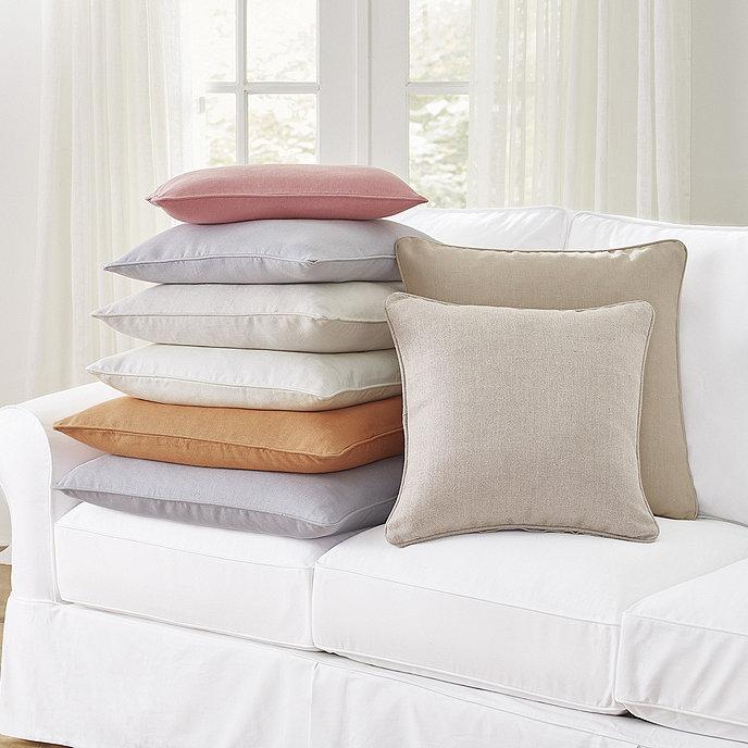Suzanne Kasler Signature 13oz Linen Pillow Cover