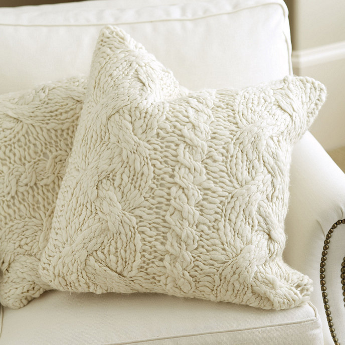 Wiltern Knit Pillow