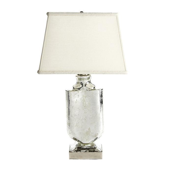 Simone Table Lamp With Rectangular Shade