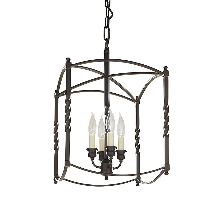 Carriage House Foyer Light : Carriage house chandelier large dark bronze