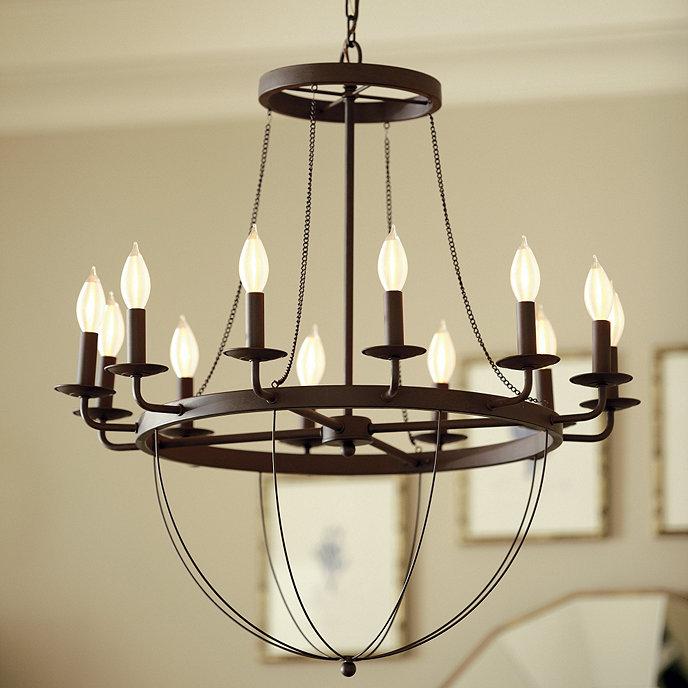 Lourdes chandeliers ballard designs lourdes 12 light chandelier aloadofball Gallery