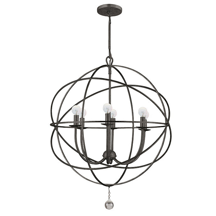 Orb Chandelier. Share This Item. Customer Photos#BallardDesigns - Orb Chandelier Ballard Designs