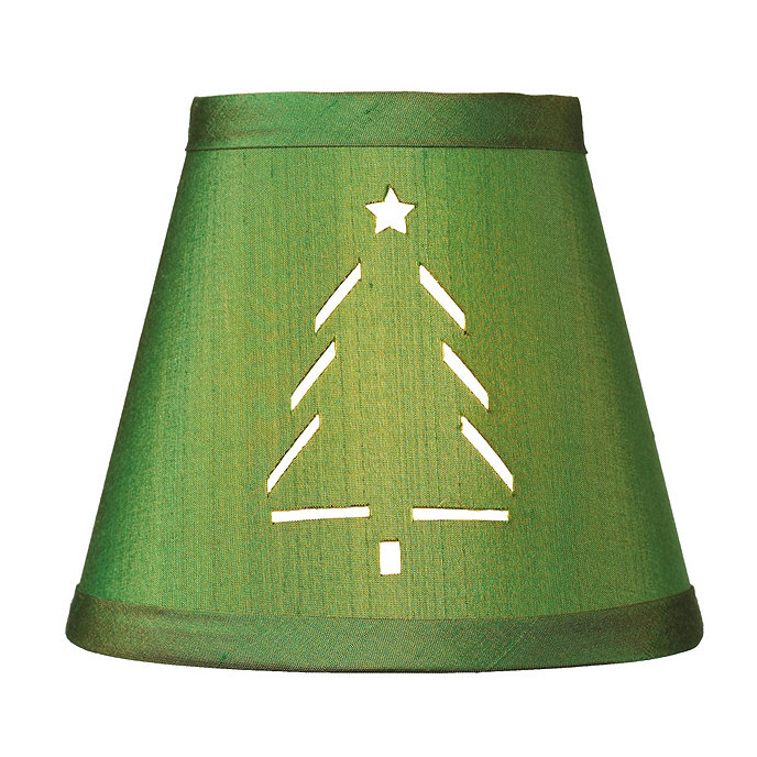 Christmas tree chandelier shade dupioni silk chandelier shade christmas tree chandelier shade aloadofball Choice Image
