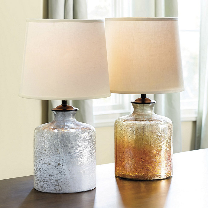 Ellis glass table lamp