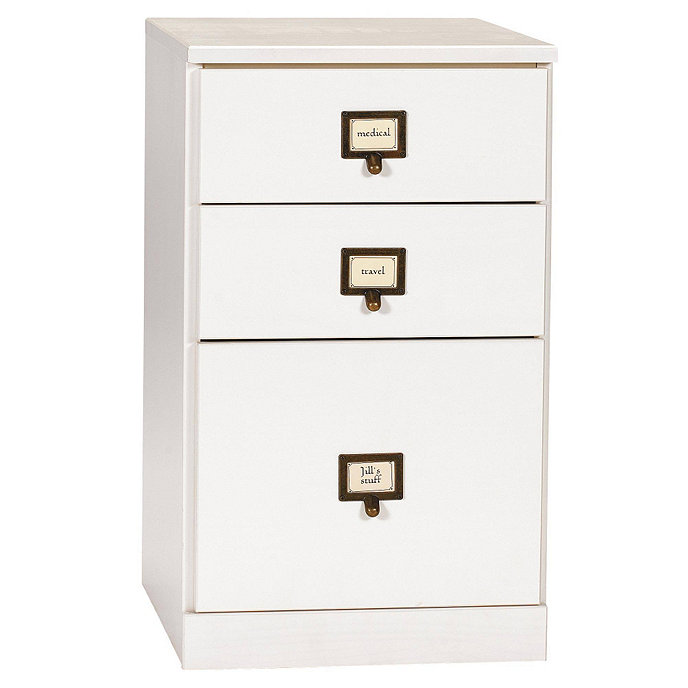 original home office 3 drawer file cabinet
