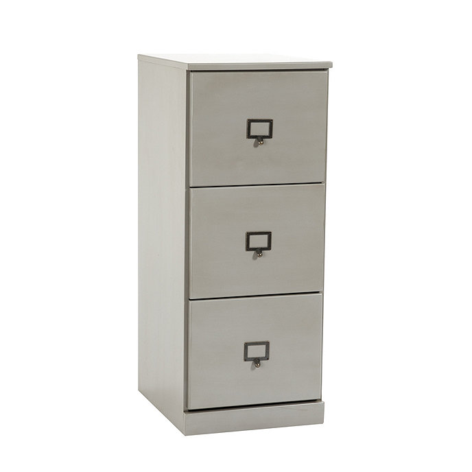original home office tall 3 drawer file cabinet