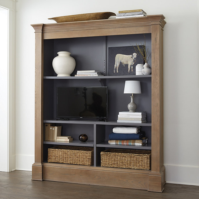 Martine Media Bookcase | Ballard Designs